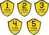 1,2,3,4,5 year guarantee