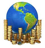 Global economy. Conceptual illustration