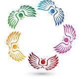 Angels team logo