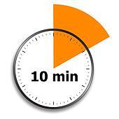 10 minutes Countdown Timer Alarm Clock - YouTube