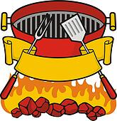 Charcoal Grill Clip Art Royalty Free Gograph