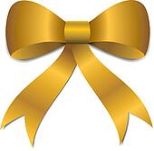Christmas Bow Clip Art  Royalty Free  GoGraph