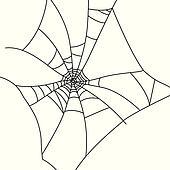 Cobweb Clip Art - Royalty Free - GoGraph