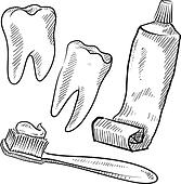 Dental Hygiene Clip Art - Royalty Free - GoGraph