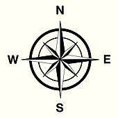Compass Clip Art - Royalty Free - GoGraph